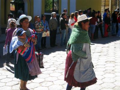 Bäuerinnen in Bolivien