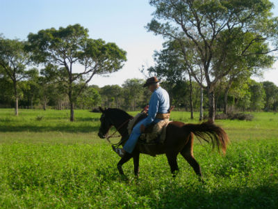 Bauer im Pantanal (Brasilien)