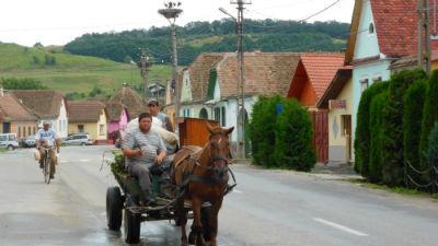 Bauern in Rumänien